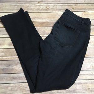Ann Taylor Modern Fit Dark Wash Jeans